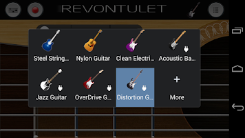 Screenshot of Distortion Guitar Sound Plugin