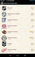 Screenshot of How to Draw: Hockey NHL Logos