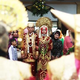 West Sumatra Wedding Art by Suhairy Tri Yadhi - Wedding Ceremony ( wedding photography, wedding ceremony )