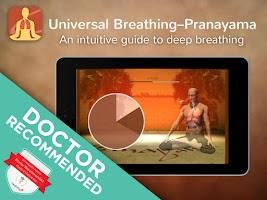 Screenshot of Universal Breathing: Pranayama