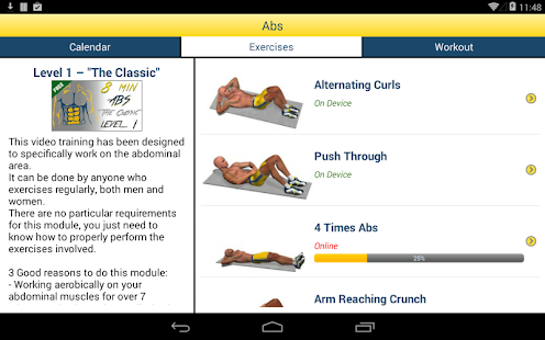 App 8 Minutes Abs Workout APK for Windows Phone