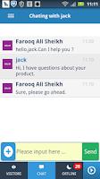 Screenshot of Banckle Chat