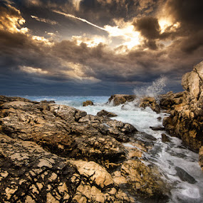 windy day by Petar Lupic - Landscapes Weather ( frkanj, croatia, rab, petar lupic, suha punta, hrvatska )