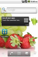 Screenshot of Fruit live wallpaper HD 2