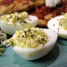 Deviled Eggs With Lemon