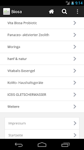 Biosa der Shop - screenshot
