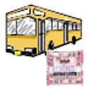Bus Ticket Number icon