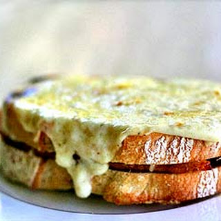 Croque Monsieur Ham and Cheese Sandwich