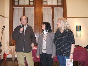 Hugo Caruso, Lilian Herrera, Elba García