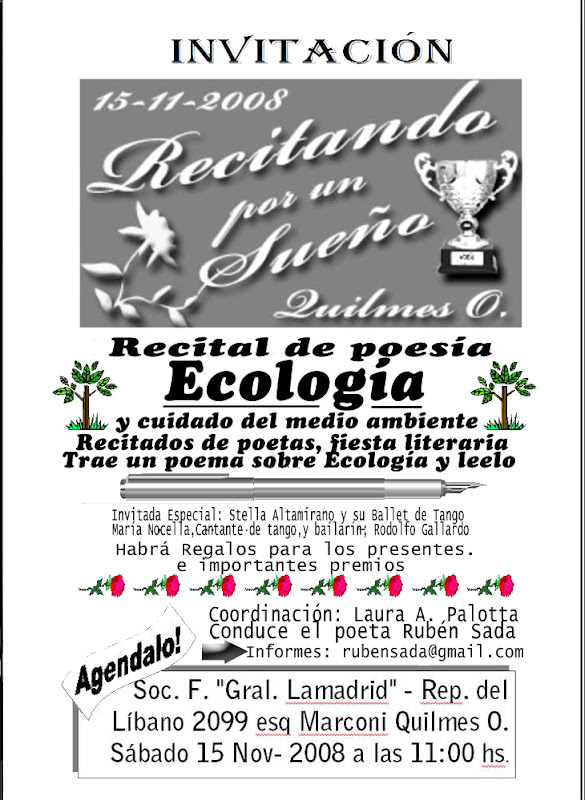 poesia ecologica