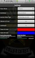 Screenshot of Roller Derby PenaltyTimer Free