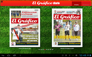 Screenshot of El Grafico Diario