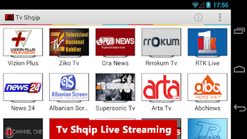 Screenshot of Tv Shqip Live - Albanian Tv
