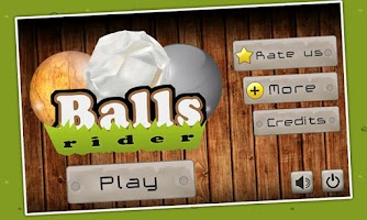 Screenshot of Balls Rider