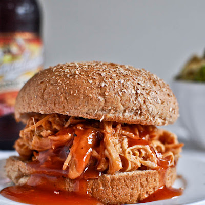 Crockpot BBQ Beer Chicken