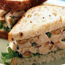 Hot Turkey Salad Sandwiches