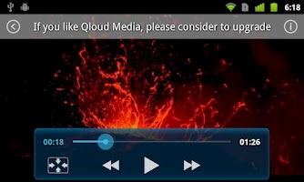 Screenshot of Qloud Media Free