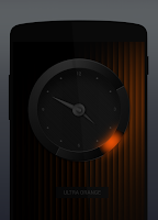 Screenshot of UltraPRO - analog clock widget