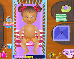 Screenshot of Baby Daisy Diaper Change