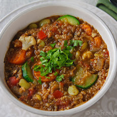 Ridiculously Easy Lentil and Vegetable Stew