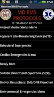 Screenshot of DEMO - MD EMS Protocols
