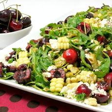 Fresh Corn and Cherry Salad