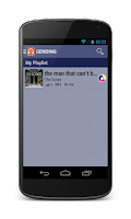 Screenshot of Gending - MP3 Upload & Share