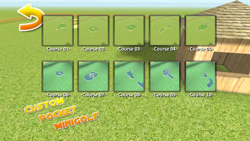 Custom Pocket Minigolf - screenshot
