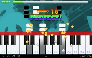 Screenshot of Piano Master FREE