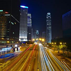 HK4 by Jovi Mirabueno - City,  Street & Park  Vistas