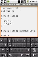 Screenshot of Programmers Keyboard
