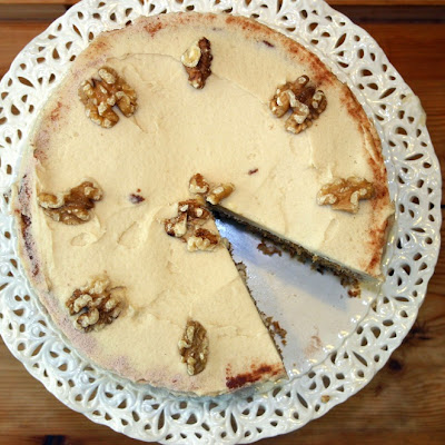 Italian Blend Coffee And Walnut Cake