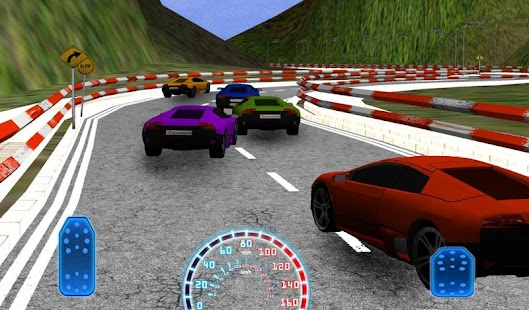 3D Racing in Hills - screenshot