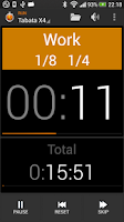 Screenshot of Impetus Interval Timer