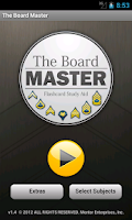 Screenshot of Board Master Army Flashcards