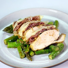 Lemon Butter Chicken with Asparagus