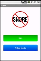 Screenshot of Snore Sound Effect Prank
