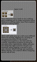 Screenshot of Minebuilder Recipe Book