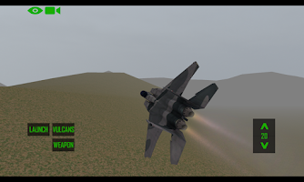 Screenshot of F-15 Flight Sim