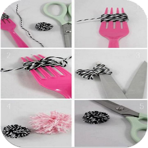 Easy crafts images android apps on google play for Decorative items from waste material for kids
