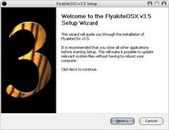 XP大變身_FlyakiteOSX 安裝畫面一