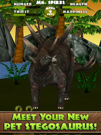 Virtual Pet Dino: Stegosaurus - screenshot