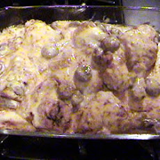 Baked Chicken with Mushroom Gravy