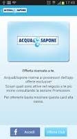 Screenshot of Acqua&Sapone App