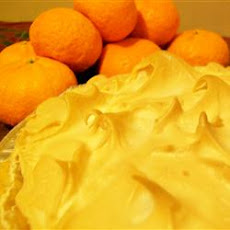 Orange Meringue Pie