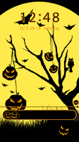 Screenshot of GO Locker Theme Halloween