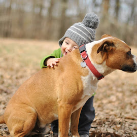 Just a boy and his dog by Kasey Harmon Stephens - Babies & Children Toddlers
