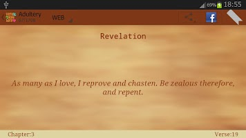 Screenshot of Holy Bible Quotes (Verses)
