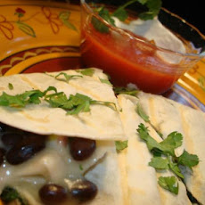 Light & Luscious Vegetarian Quesadilla