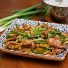 Pork and String Bean Stir Fry